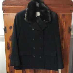 NWT Bass Women's pea coat.